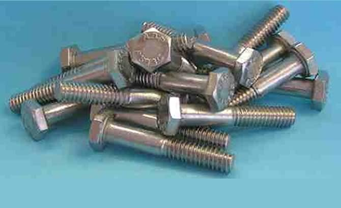 Hex Head Bolts<br />18-8 / 304 Stainless Steel