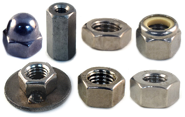 316 Stainless Steel Stainless Steel Nuts