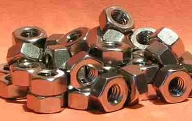 Finished Hexagon Nuts<br />316 Stainless Steel