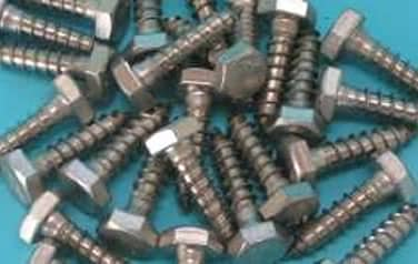 Lag Bolts 18-8 <br /> 304 Stainless Steel