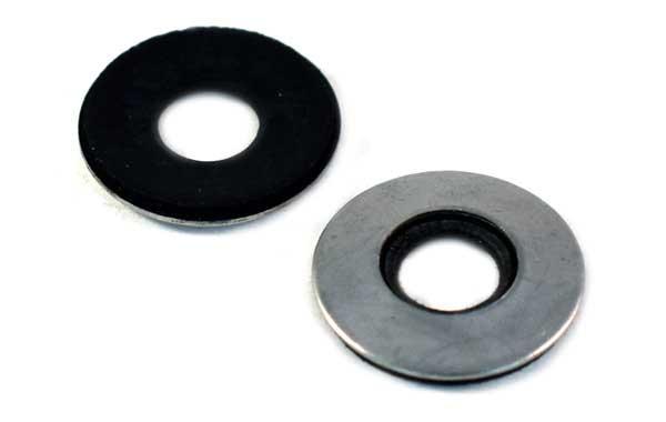 Neoprene Bonding Washer<br />18-8 / 304 Stainless Steel