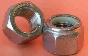 Nylon Insert Lock Nuts<br />316 Stainless Steel