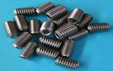 Socket<br />Set Screws<br />18-8 / 304 Stainless Steel